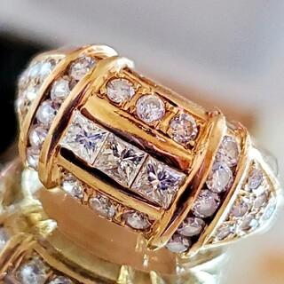 ジュエリーマキ(ジュエリーマキ)のジュエリーマキ K18 ダイヤ 1.30ct リング 指輪 18K  750(リング(指輪))