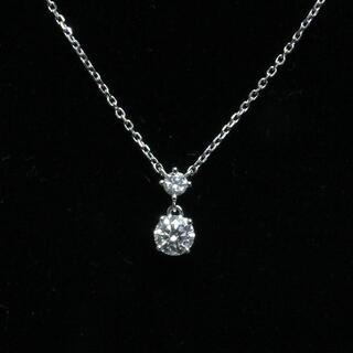 ヨンドシー(4℃)の4℃ ヨンドシー ダイヤ ネックレス 2P 0.215 PT850(ネックレス)