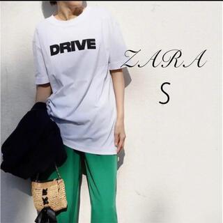 ザラ(ZARA)のZARA © DRIVE Tシャツ S(Tシャツ(半袖/袖なし))