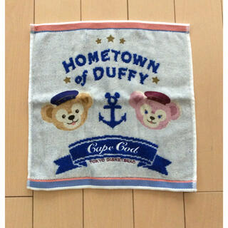 ディズニー(Disney)のDisney sea 購入  ダッフィーのハンドタオル  新品未使用(キャラクターグッズ)
