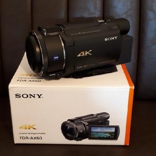 SONY - SONY FDR-AX60 デジタル4Kビデオカメラレコーダ