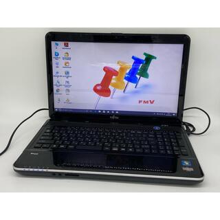富士通 - ブルーレイ Windows10 富士通 ノートパソコン オフィス