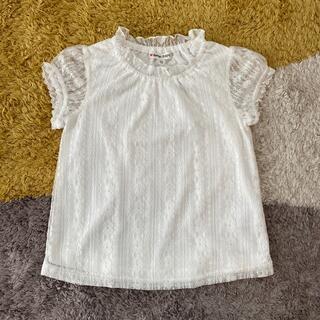 エニィファム(anyFAM)の【新品・未使用】レーストップス 110cm(Tシャツ/カットソー)