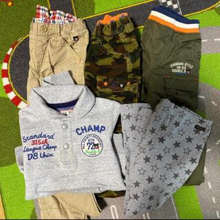 ダブルビー(DOUBLE.B)のダブルB トレーナー、パンツ120(Tシャツ/カットソー)