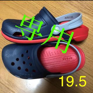 クロックス(crocs)のクロックス サンダル J1 19.5 クロックス J1 キッズサンダル 19.5(サンダル)