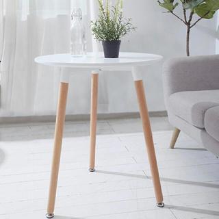 ニトリ - ✨9月18日までお値下げ✨ 丸テーブル 白 カフェテーブル ティーテーブル