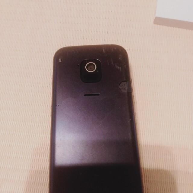 NTTdocomo(エヌティティドコモ)のらくらくホン F-02J スマホ/家電/カメラのスマートフォン/携帯電話(携帯電話本体)の商品写真