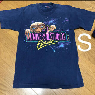Tシャツ 1989年 90S ユニバーサルスタジオ E.T Tシャツ 昭和T