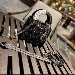 ディオール(Dior)のdiorショルダーバッグ(ウッドベース)