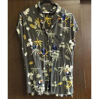 DOUBLE STANDARD CLOTHING - ダブスタ バード柄プリントシャツ