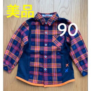 familiar - 美品 ファミリア 90 シャツ