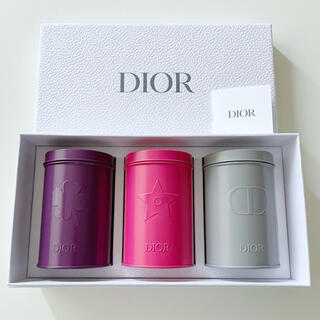 Dior - Dior ディオール プラチナ会員 バースデーギフト 非売品ノベルティ 缶セット