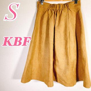 ケービーエフ(KBF)のKBF ケービーエフ かわいい きれいめカジュアル 春コーデ 膝丈スカート(ひざ丈スカート)