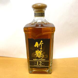 ニッカウイスキー(ニッカウヰスキー)のニッカ 竹鶴12年 ピュアモルト(ウイスキー)