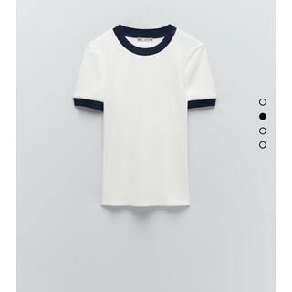 ザラ(ZARA)のZARA 新品 M(Tシャツ(半袖/袖なし))