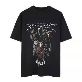 REPRESENT Tシャツ 半袖 ユーズド加工(Tシャツ/カットソー(半袖/袖なし))