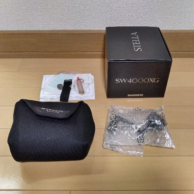 SHIMANO(シマノ)のななさん専用★2021年4月製造品 20ステラSW 4000XG シマノ スポーツ/アウトドアのフィッシング(リール)の商品写真