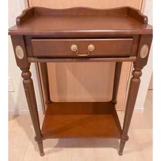 アクタス(ACTUS)のかなり美品 カントリー コンソール サイドテーブル アンティーク ヴィンテージ(コーヒーテーブル/サイドテーブル)