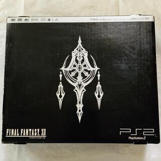 プレイステーション2(PlayStation2)の【送料無料】PlayStation 2 ファイナルファンタジーXII Pack(家庭用ゲーム機本体)