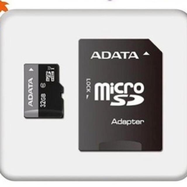 microSDメモリーカード マイクロSDカード SDカードCLASS10 一個 スマホ/家電/カメラのPC/タブレット(PC周辺機器)の商品写真