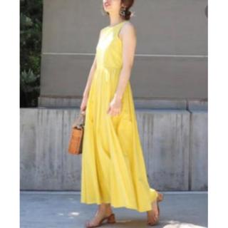DEUXIEME CLASSE - 美品! MARIHA「夏のレディのドレス」イエロー 38