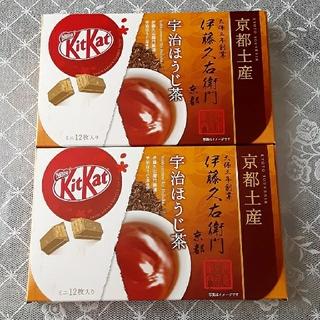 Nestle - 送料込み♡Nestlé キットカット 宇治ほうじ茶 2箱