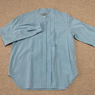 MARGARET HOWELL - MARGARET HOWELL バンドカラーシャツ