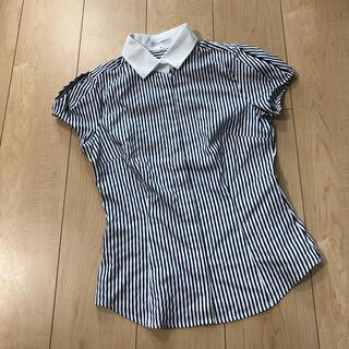 ナラカミーチェ(NARACAMICIE)のナラカミーチェ シャツ ストライプ(シャツ/ブラウス(半袖/袖なし))