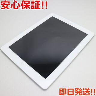 アップル(Apple)の美品 判定○ iPad第4世代Wi-Fi+cellular64GB ホワイト (タブレット)
