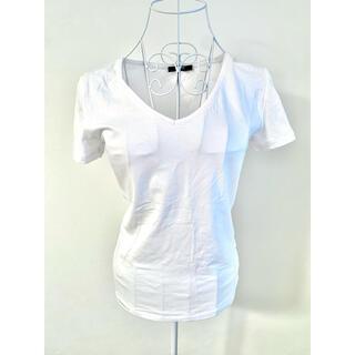 ザラ(ZARA)のzara シンプル Tシャツ(Tシャツ(半袖/袖なし))