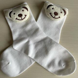 ウィゴー(WEGO)の新品・未使用くまちゃん靴下(靴下/タイツ)