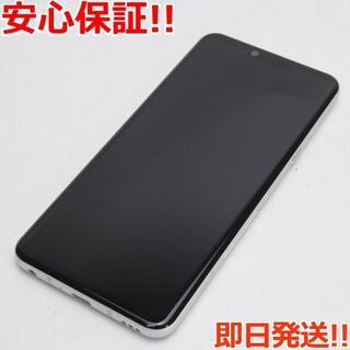 エルジーエレクトロニクス(LG Electronics)の超美品 L-41A LG style3 オーロラホワイト (スマートフォン本体)