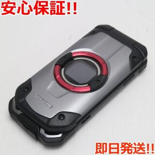 キョウセラ(京セラ)の美品 au KYF33 TORQUE X01 シルバー (携帯電話本体)