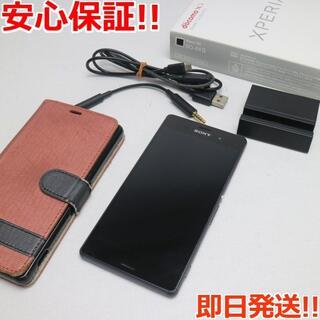 エクスペリア(Xperia)の美品 SO-01G docomo Xperia Z3 ブラック (スマートフォン本体)