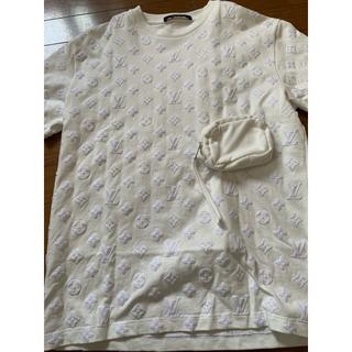 ルイヴィトン(LOUIS VUITTON)の美品ヴィトン モノグラムtシャツ  20SS/フックアンドループ(Tシャツ/カットソー(半袖/袖なし))