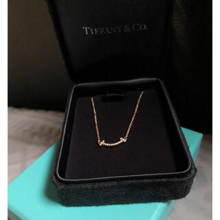 ティファニー(Tiffany & Co.)のTiffany Tスマイル ミニ ダイヤモンド(ネックレス)