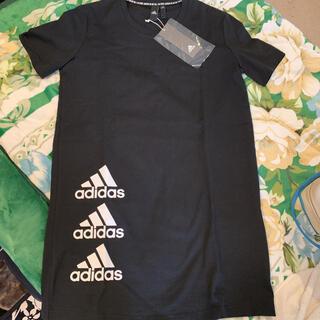 adidas - アディダス ロング丈 Tシャツ 未使用タグ付き