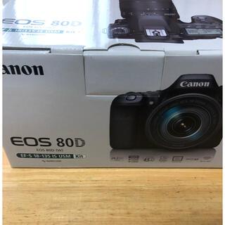 Canon - [新品未使用品] Canon デジタル一眼EOS80D レンズキット