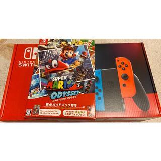 Nintendo Switch - Nintendo switch 本体 + マリオ オデッセイ