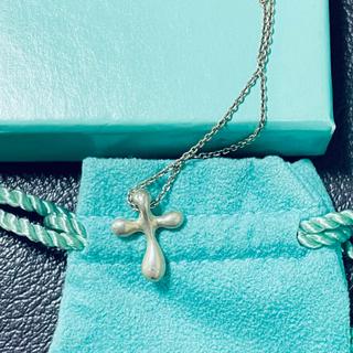 ティファニー(Tiffany & Co.)のティファニー クロス ネックレス(ネックレス)