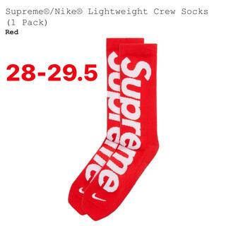 Supreme - シュプリーム×NIKE ライトウェイトクルーソックス