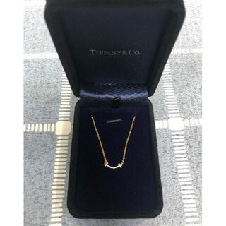 ティファニー(Tiffany & Co.)の本日限定 ティファニー T スマイルペンダント(ネックレス)