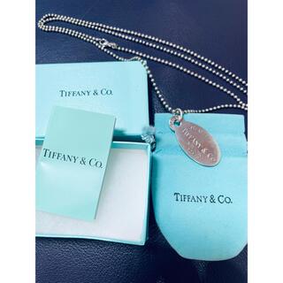 ティファニー(Tiffany & Co.)のティファニー プレート ネックレス(ネックレス)