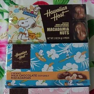 チョコレート(chocolate)のハワイアンホースト チョコレート 限定 パッケージ(菓子/デザート)