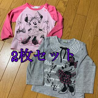 Disney - ミニーちゃん ロンT 90㎝