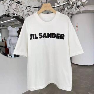 ジルサンダー(Jil Sander)の★Jil Sander★オーバーサイズ ロゴTシャツ(Tシャツ(半袖/袖なし))