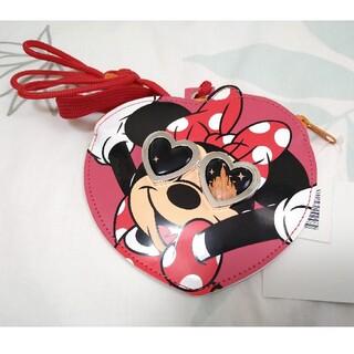 ディズニー(Disney)の東京ディズニーリゾート ミニー パスケース(キャラクターグッズ)