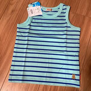 ミキハウス(mikihouse)の値下げ ミキハウス ボーダータンク 100(Tシャツ/カットソー)