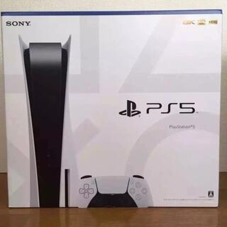 プレイステーション(PlayStation)のPlayStation5 ディスクドライブ搭載モデル 本体 新品未使用品(家庭用ゲーム機本体)