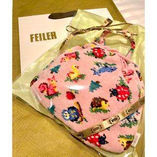 FEILER - フェイラー 福岡 天神 限定 ハイジフレンズフォレスト 巾着 ショルダーバック